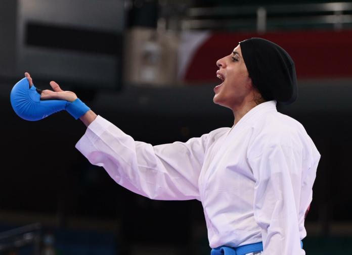 Feryal Abdelaziz a marqué l'histoire de l'Egypte lors des Jeux Olympiques, ce samedi 7 août à Tokyo.