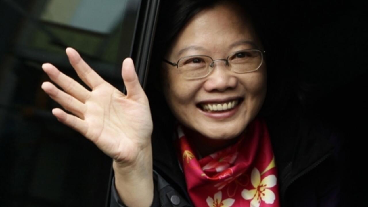 蔡英文啟程赴美訪問中國強調堅決反對任何人以任何形式在國際從事臺獨