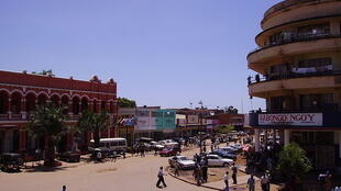 (illustration) The city center of Lubumbashi in the Democratic Republic of the Congo.
