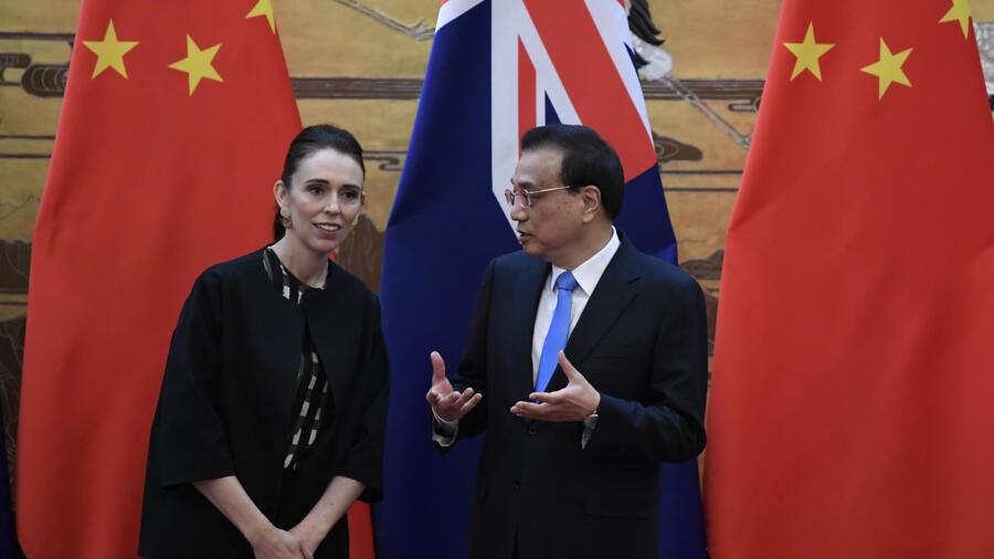 新西兰总理:与中国在人权议题上的分歧难以调和 新西兰总理:与中国在人权议题上的分歧难以调和