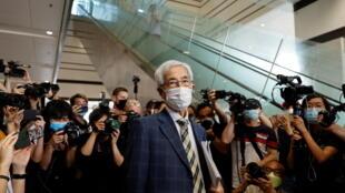 年逾80的香港资深大律师,被看作是香港民主之父的李柱铭因参加2019年8月18日的反送中集会活动,于2021年4月1日被判刑。