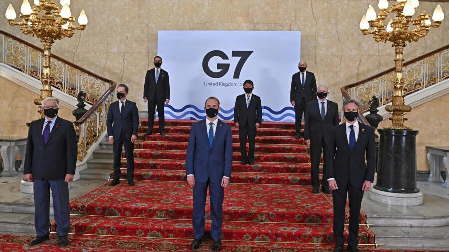 七国集团外长会议开幕日本外相与美英外长会谈 七国集团外长会议开幕日本外相与美英外长会谈