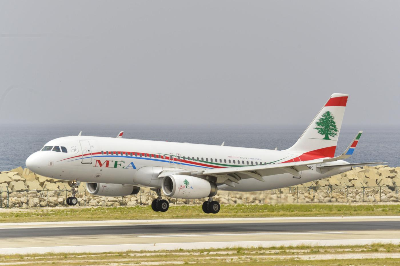 Un avion de Middle East Airlines, la compagnie aérienne du Liban.