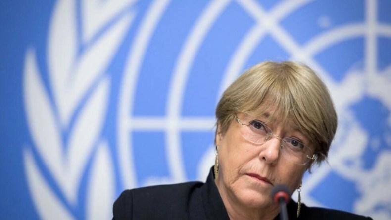 میشل باشله، کمیسرعالی سازمان ملل متحد برای حقوق بشر و رئیس جمهوری پیشین شیلی
