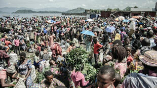 The informal economy in DR Congo.