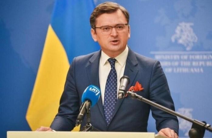 دیمیترو کولهبا وزیر امور خارجۀ اوکراین