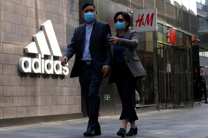H&M says it wants to stay in China for the long term.