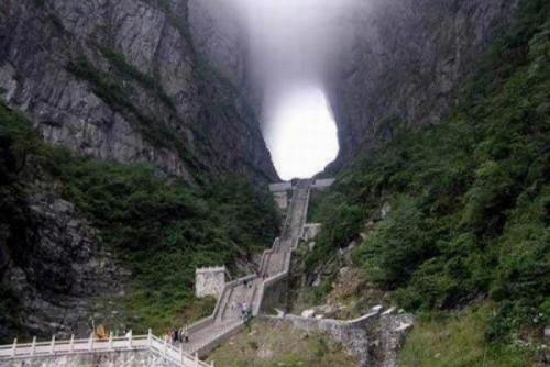 Планината Тианмен – Врата към Рая