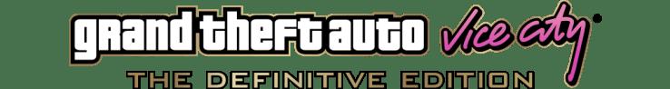 Logotipo de Grand Theft Auto Vice City - The Definitive Edition