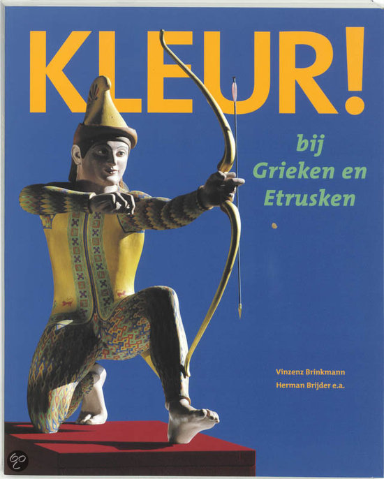 Colour in antiquity, Dutch book cover