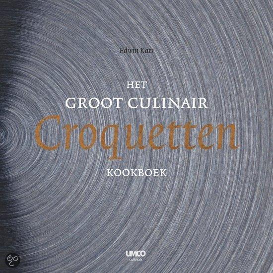 Het groot culinair croquetten kookboek