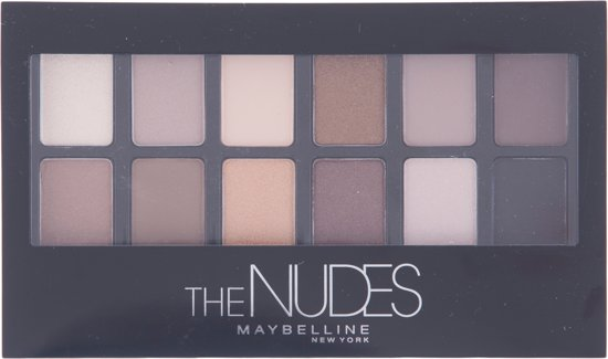 Maybelline The Blushed Nudes Oogschaduwpalet
