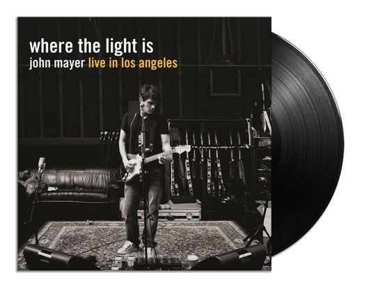 """Where The Light Is"" LP by John Mayer"