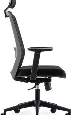 Complete bureaustoel - ergonomisch gevormd - Model BenS 805