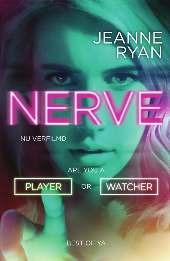 Nerve Boek omslag