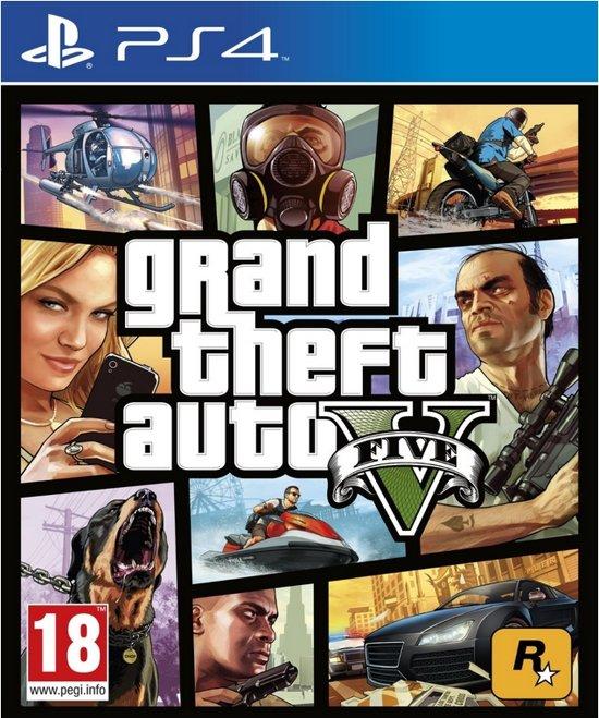 Grand Theft Auto V GTA 5 - PS4 (Import)