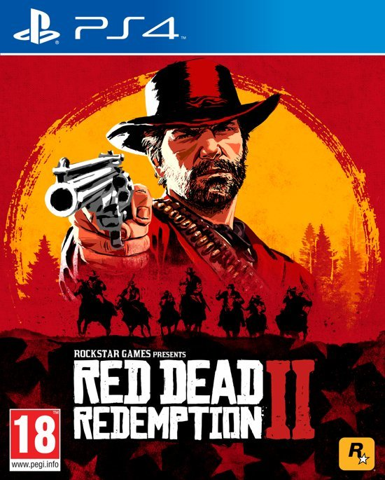 Sony PlayStation 4 PS4 Spiel Red Dead Redemption 2 (USK 18)
