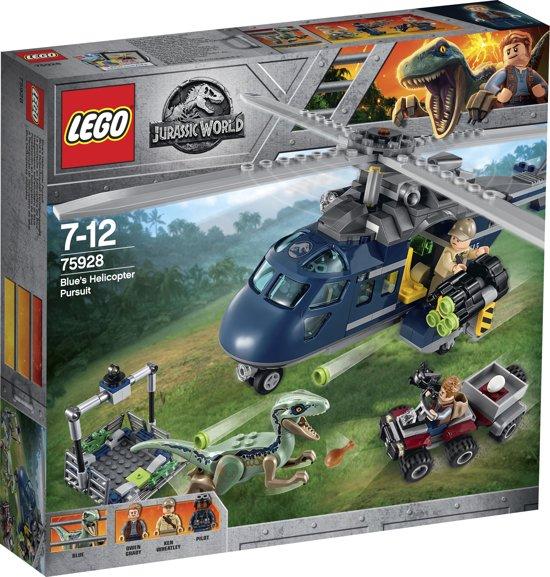 LEGO Jurassic World Helikopterachtervolging van Blue - 75928
