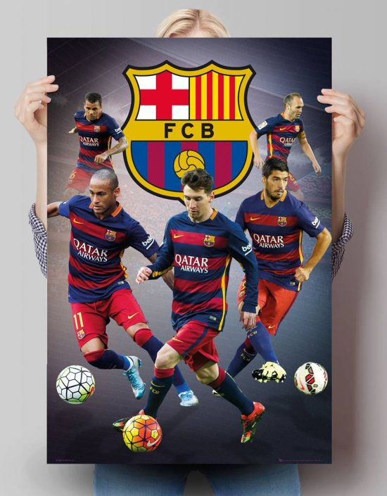 fc barcelona poster