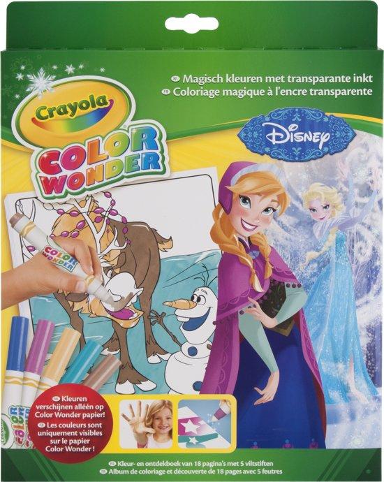 Color Wonder box set Frozen - Kleurboek incl. 5 Stiften