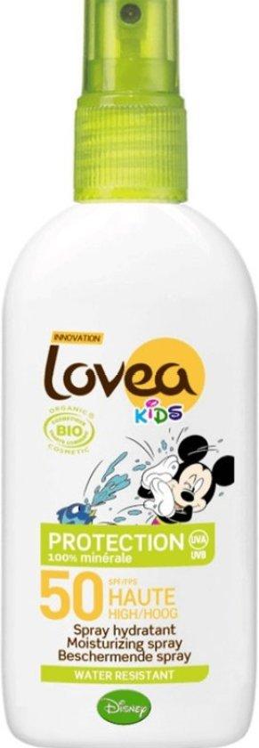 Lovea Bio Kids SPF 50 - Zonnebrand spray