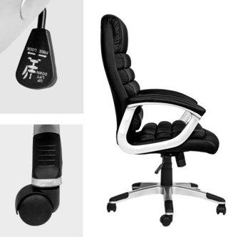 TecTake - bureaustoel - burostoel - model Paul - zwart - 402149