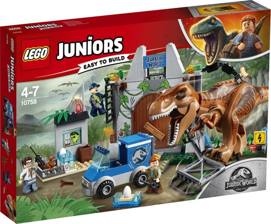 LEGO Juniors Jurassic World T-Rex Ontsnapping - 10758