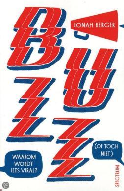 """Boek """"Buzz"""" van Jonah Berger, afbeelding via Bol.com"""