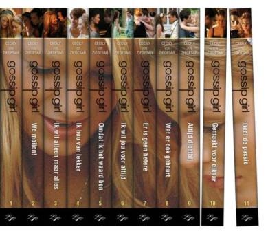 """Afbeeldingsresultaat voor gossip girl boeken serie nederlands"""""""