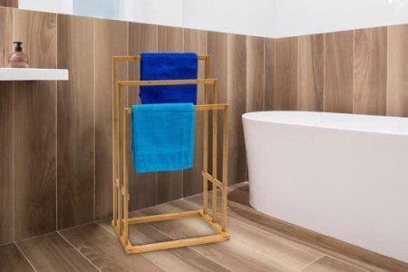 handdoekenrek badkamer staand » Huis inrichten 2019 | Huis inrichten