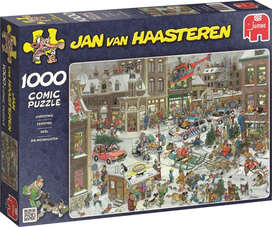 Jan van Haasteren Kerstmis - Puzzel 1000 Stukjes