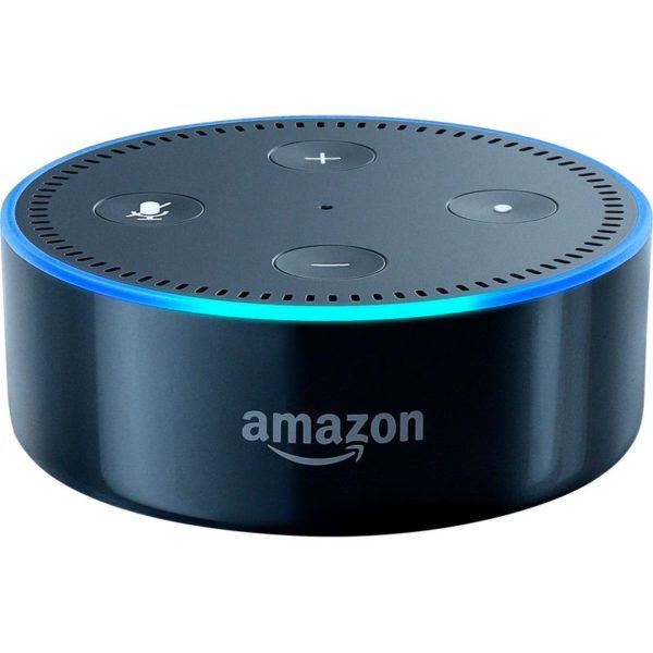 Buy Amazon Echo Dot (2nd Generation) Smart Speaker with Alexa – Black – Price, Specifications & Features | Sharaf DG