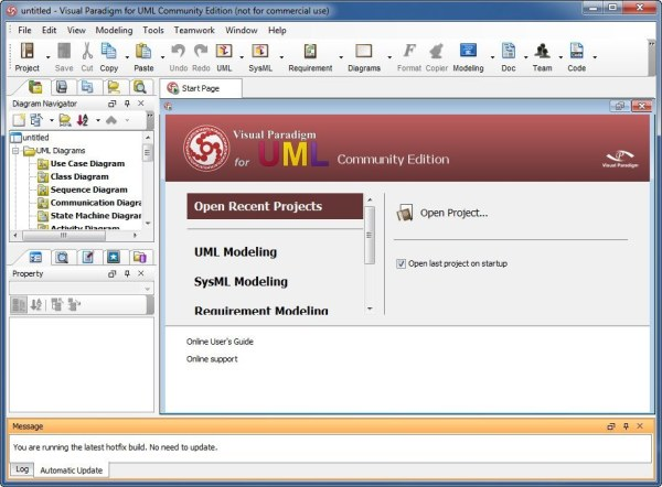 Visual Paradigm for UML Community Edition download for ...