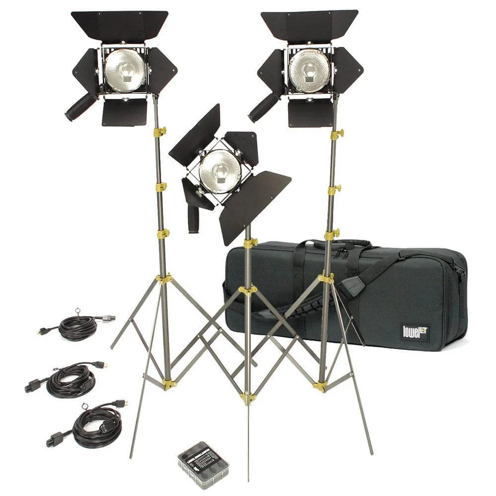 the best video lighting kits for filmmakers