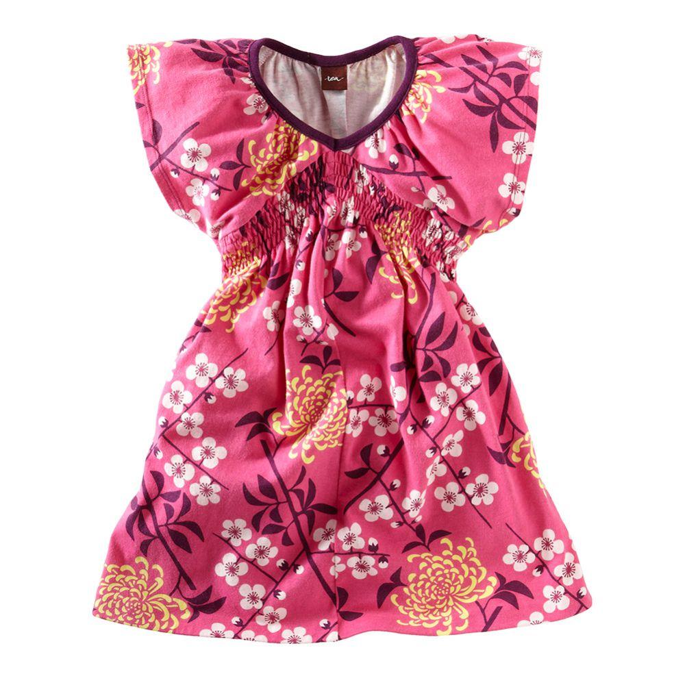 Branch Blossom Flutter Dress