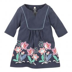 Tea Collection Java Garden Keyhole Dress