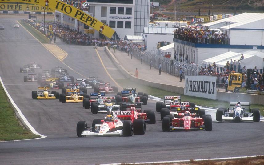 Image result for 1990 Spanish grand prix