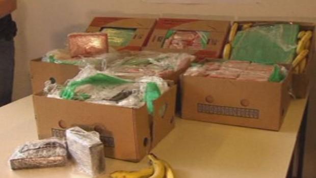 Cocaïne découverte dans des bananes