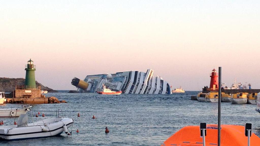 Le naufrage du Costa Concordia