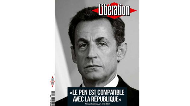 Cette Une de Libération qui irrite l'UMP
