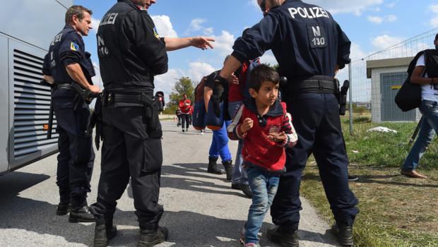 Migrants réfugiés autriche europe