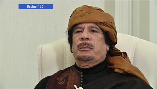 Mouammar Kadhafi, interrogé par LCI, 8 mars 2011 (diffusion de l'interview, 9 mars 2011)