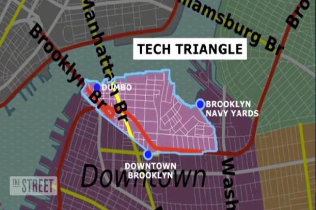 Image result for brooklyn tech triangle
