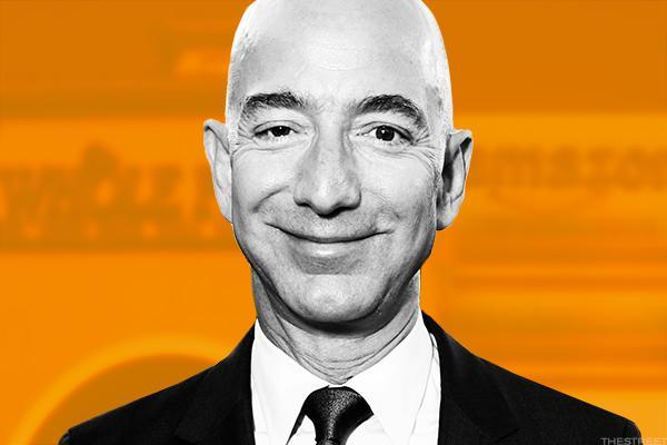Amazon's Jeff Bezos making waves.