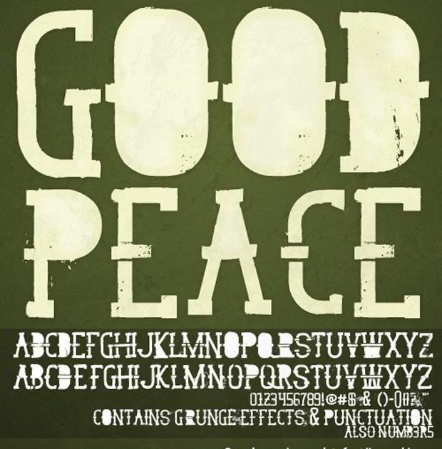 grunge font free
