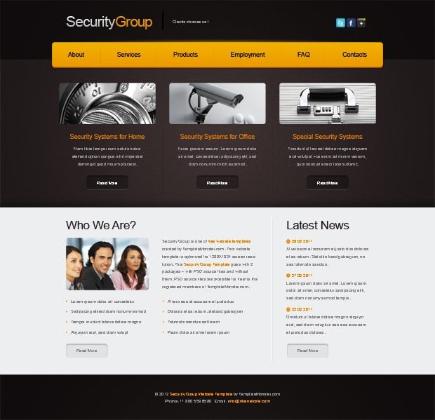 Web Security Website