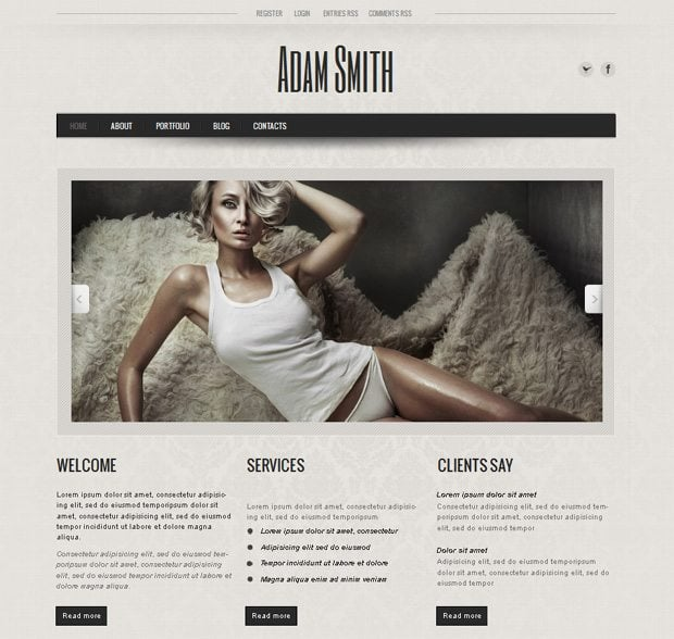 Meet Your Business Target With New Moto CMS HTML5 Templates MonsterPost