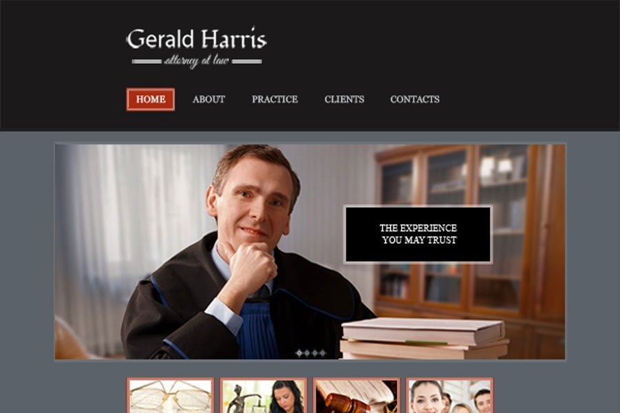 Law Legal Website Template
