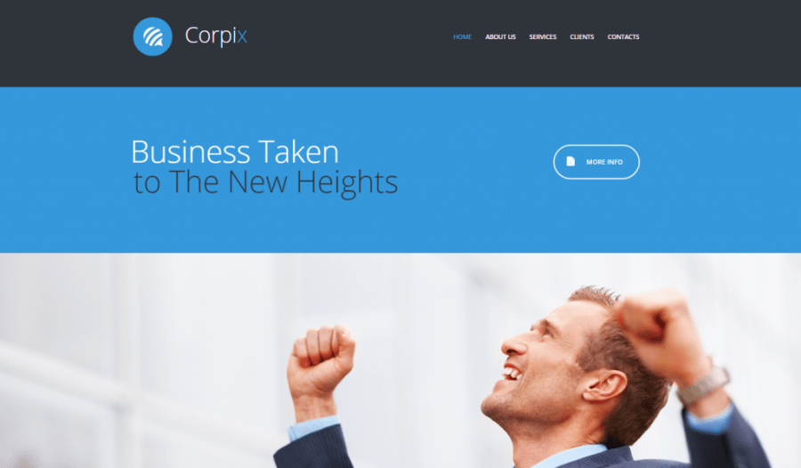 Corpix Website Template