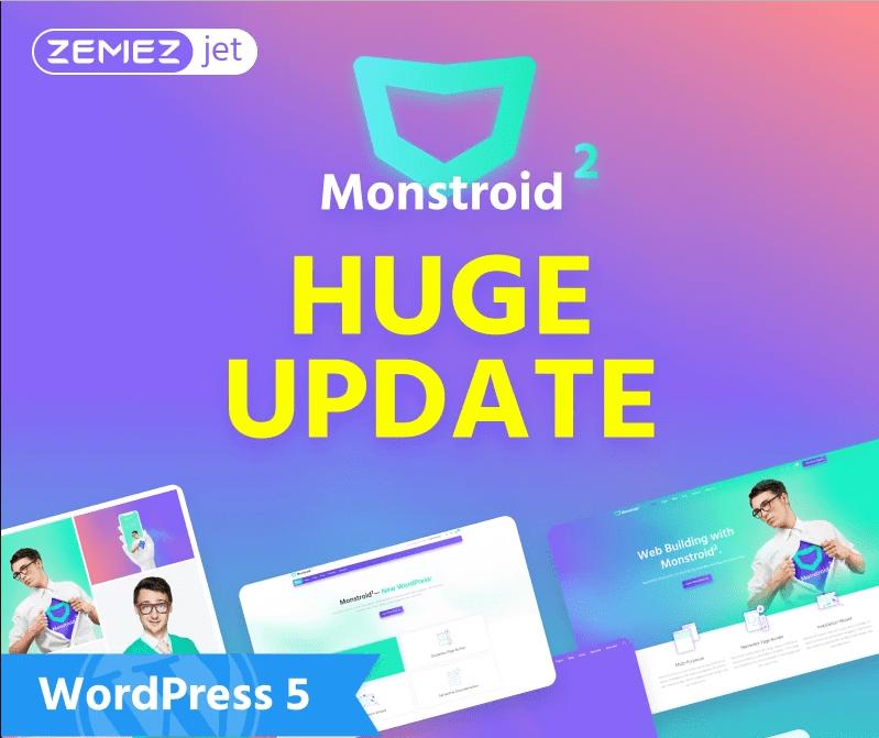 WordPress Maintenance Monstroid2
